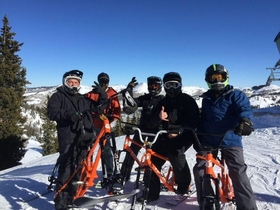 About Tngnt Ski Bikes